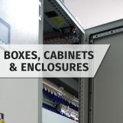 Boxes, Cabinets & Enclosures