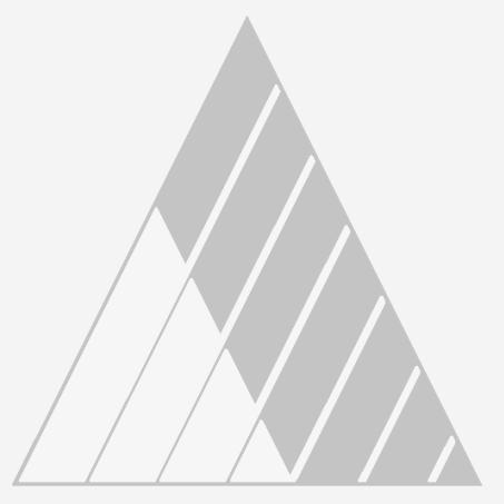 Corner Plate, Flat, Zinc, for AH 1234 ZN