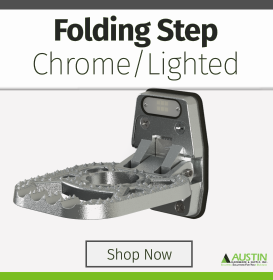 Lighted Folding Step