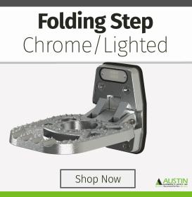Lighted Folding Step