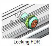 Locking Front Drawer Release
